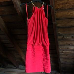 Cache Red Dress / Size 4